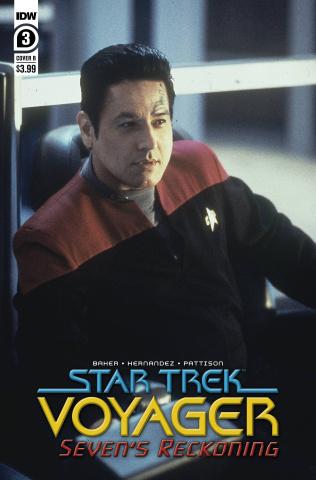 Star Trek: Voyager - Seven's Reckoning #3 (Photo Cover)