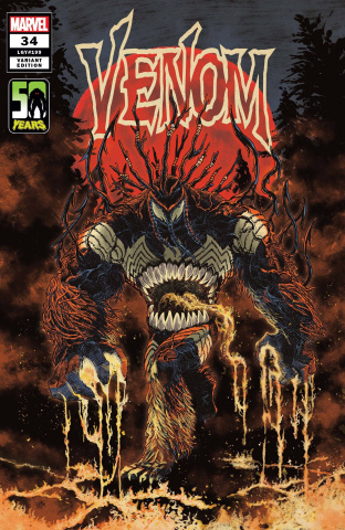 Venom #34 (Superlog Venom-Thing Cover)