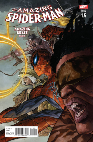 The Amazing Spider-Man #1.5 (Bianchi Cover)