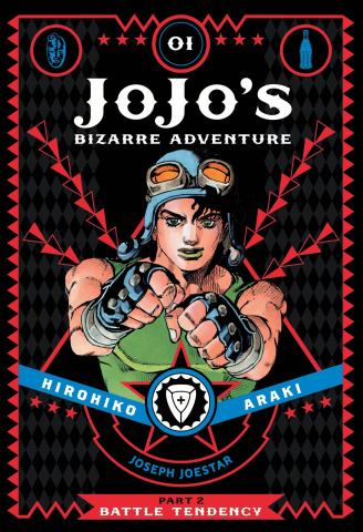 Jojo's Bizarre Adventure: Battle Tendency Vol. 1