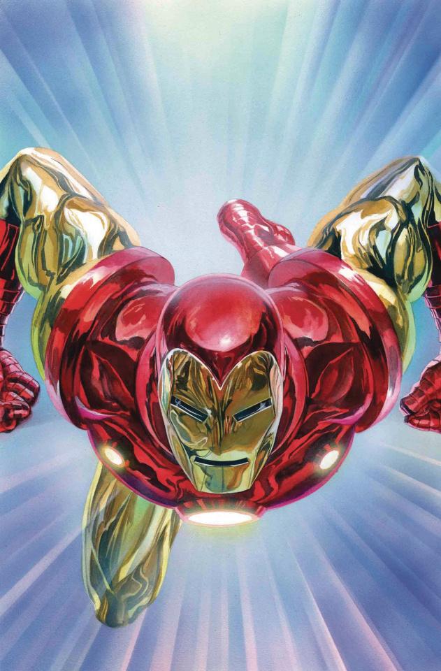 Tony Stark: Iron Man #1 (Ross Cover)