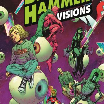 Black Hammer: Visions #4 (Olortegui Cover)