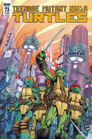 Teenage Mutant Ninja Turtles #73 (Smith Cover)