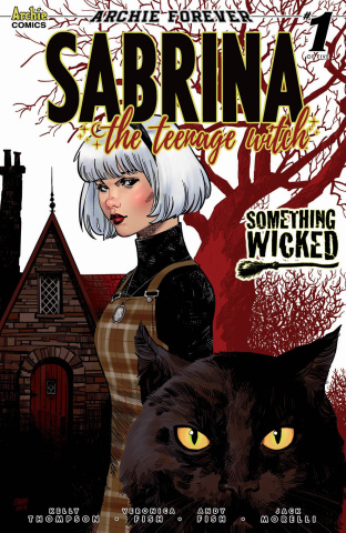 Sabrina: Something Wicked #1 (Stewart Cover)