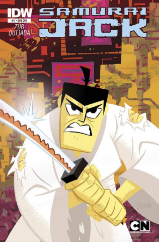 Samurai Jack #16 (Subscription Cover)