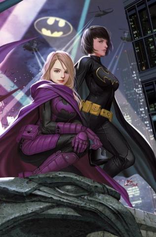 Batgirls #1 (Inhyuk Lee Batgirls Unmasked Right Side Connecting Card Stock Cover)
