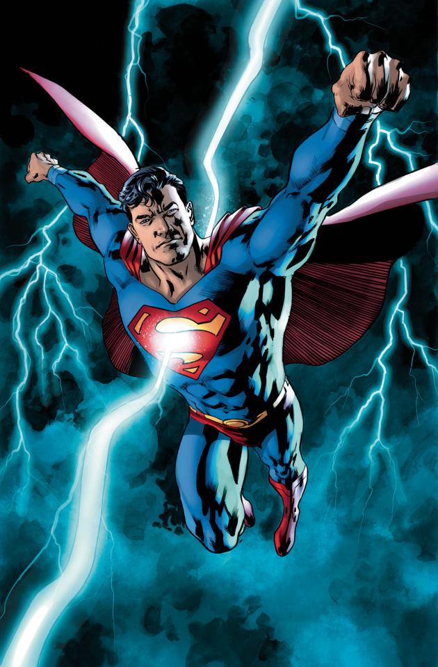 Superman #23 (Bryan Hitch C over)