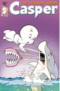 Casper, The Friendly Ghost #1 (3 Copy Retro Animation Cover)