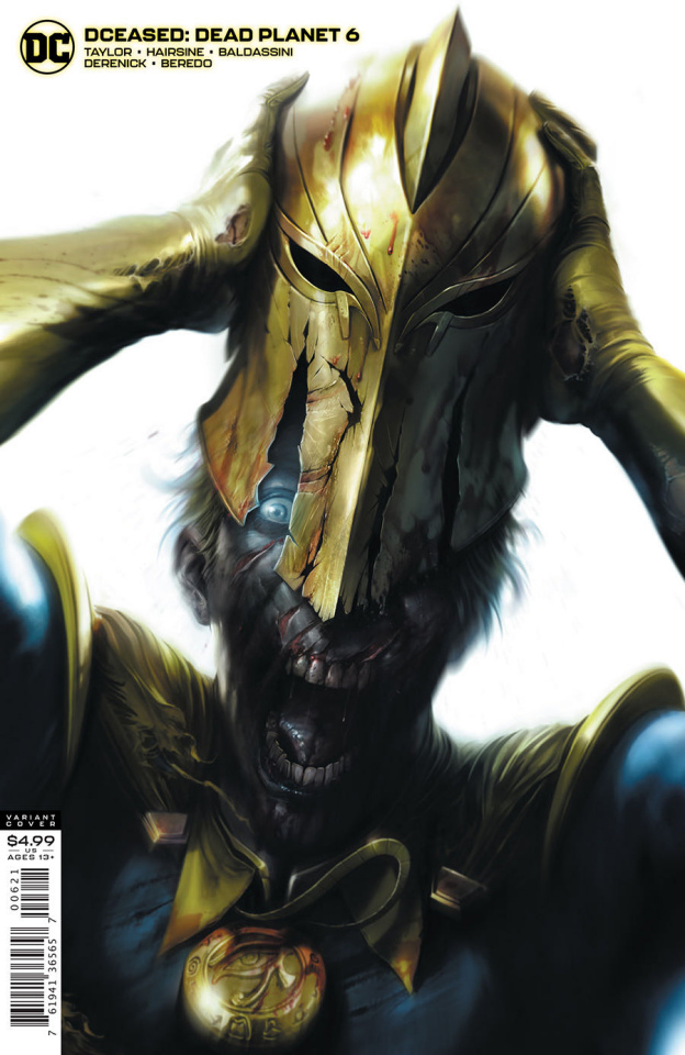DCeased: Dead Planet #6 (Francesco Mattina Card Stock Cover)