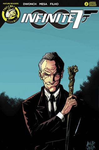 Infinite Seven #2 (Agent Seven Cover)