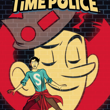 Jughead's Time Police #3 (Charm Cover)