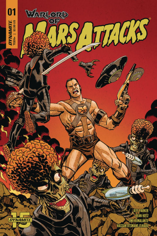 Warlord of Mars Attacks #1 (Johnson Cover)