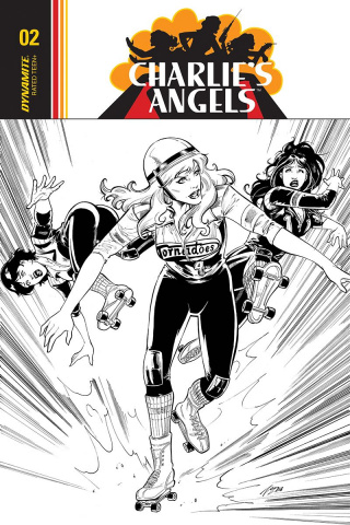 Charlie's Angels #4 (20 Copy Cifuentes B&W Cover)