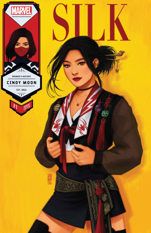 Silk #1 (Bartel Silk Womens History Month Cover)