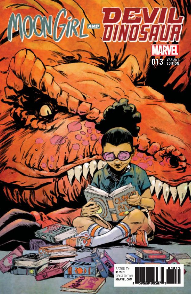 Moon Girl and Devil Dinosaur #13 (Greene Cover)