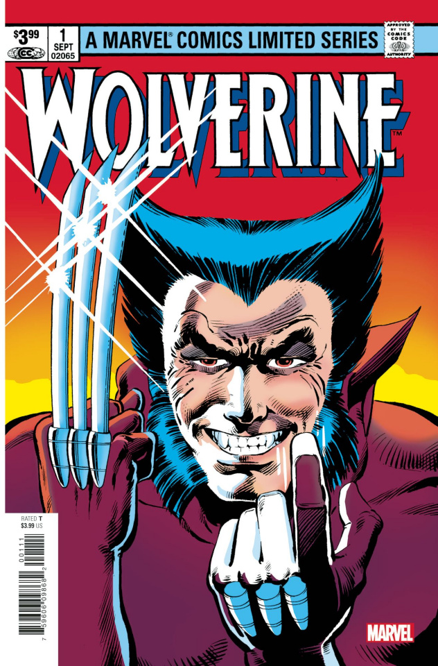 Wolverine by Claremont & Miller #1 (Facsimile Edition)
