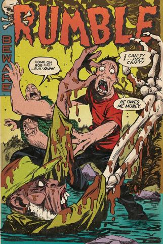 Rumble #15 (Greene & Renzi Cover)