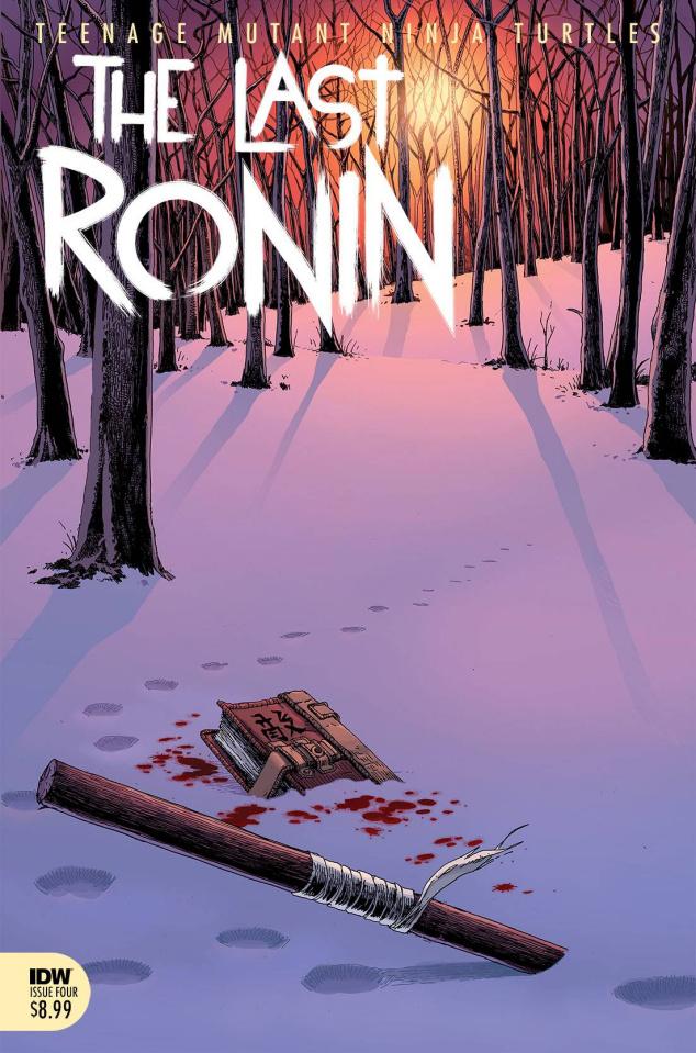 Teenage Mutant Ninja Turtles: The Last Ronin #4 (Eastman Cover)