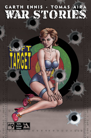 War Stories #9 (Battle Damage Retailer Cover)