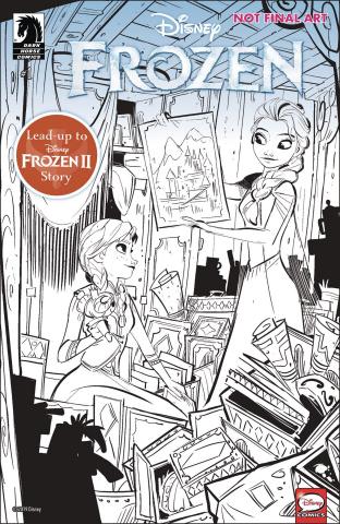 Frozen: True Treasure #1 (Kawaii Studio Cover)