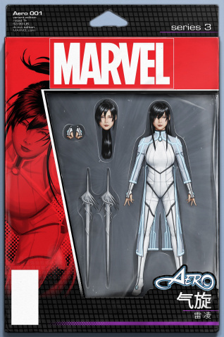 Aero #1 (Christopher Action Figure Cover)