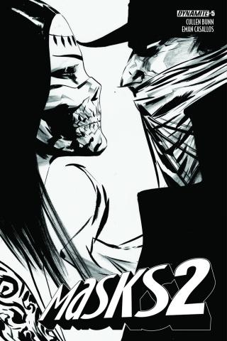 Masks 2 #5 (20 Copy Lee B&W Cover)