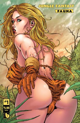 Jungle Fantasy: Fauna #1 (Sultry Cover)