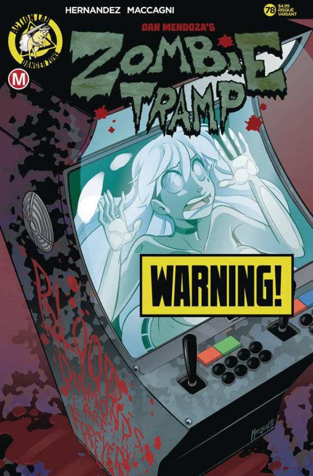 Zombie Tramp #78 (Maccagni Risque Cover)
