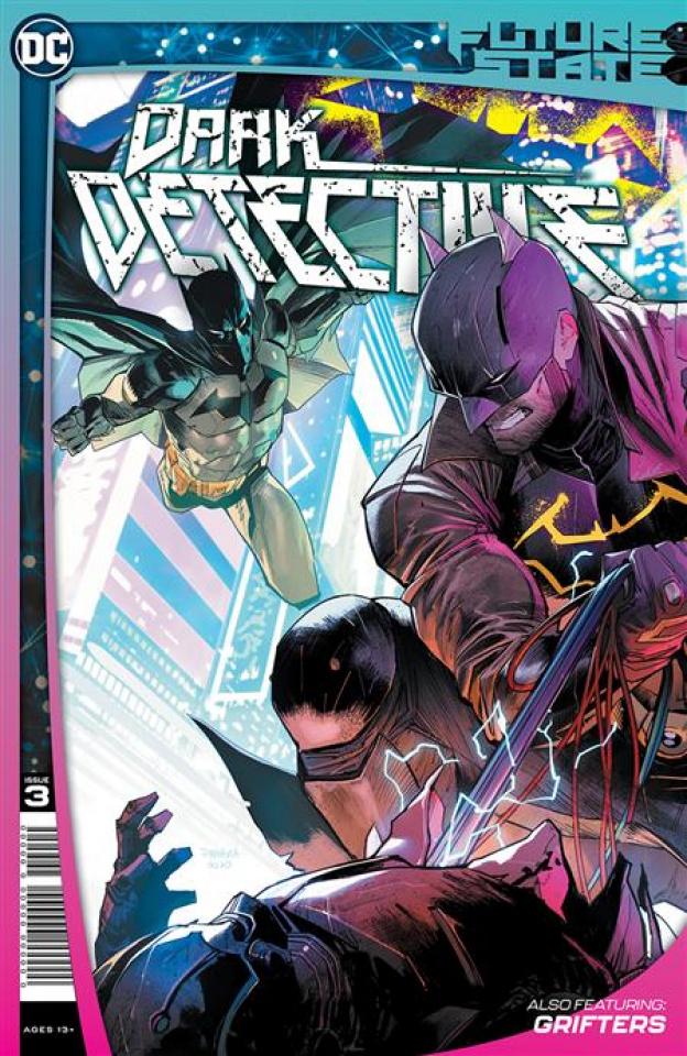 Future State: Dark Detective #3 (Dan Mora Cover)