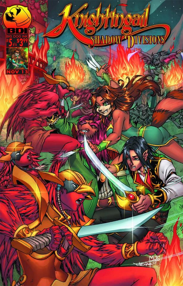 Knightingail: Shadow Divisions #5