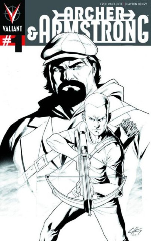 Archer & Armstrong #1 (3rd Printing)