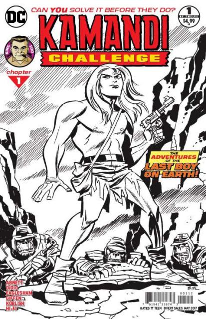 The Kamandi Challenge #1 (2nd Printing)