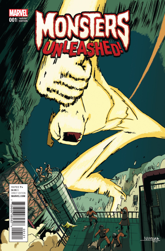 Monsters Unleashed! #1 (Nimura Cover)