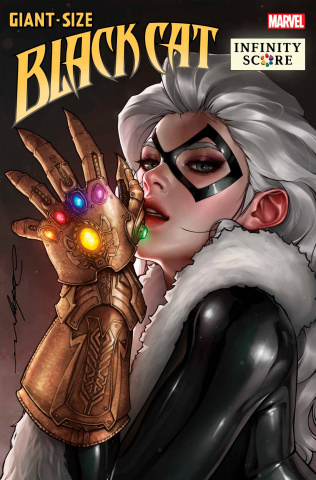 Giant-Size Black Cat: Infinity Score #1 (Jeehyung Lee Cover)