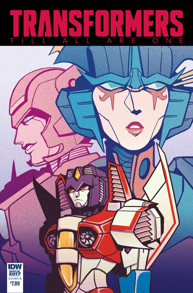 The Transformers: Till All Are One Annual 2017 (Wiedle Cover)