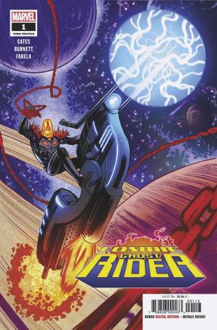 Cosmic Ghost Rider #1 (Burnett 3rd Printing)