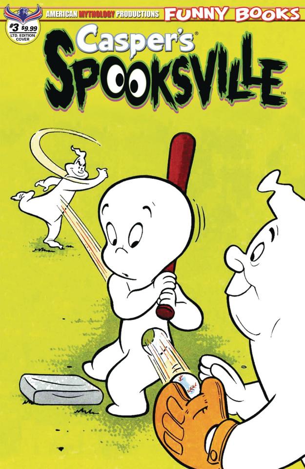 Casper's Spooksville #3 (Retro Animation Cover)