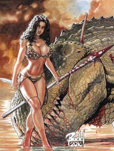 Cavewoman: Ankha's Revenge #1 (Root Cover)