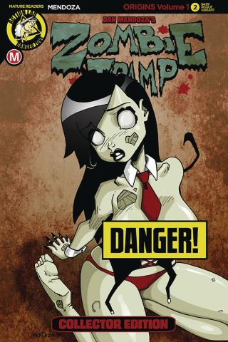 Zombie Tramp: Origins #2 (Mendoza Risque Cover)