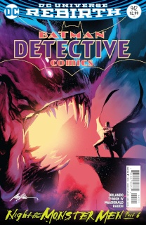 Detective Comics #942 (Monster Men Cover)