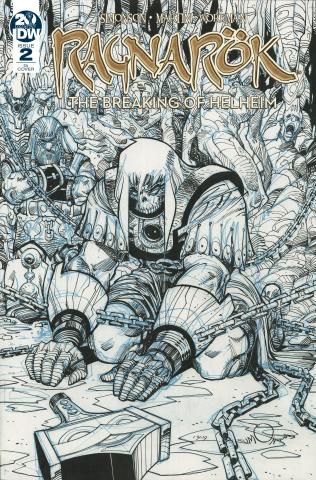Ragnarök: The Breaking of Helheim #2 (10 Copy Simonson Cover)