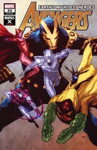 Avengers #30 (Pham Marvel X Cover)