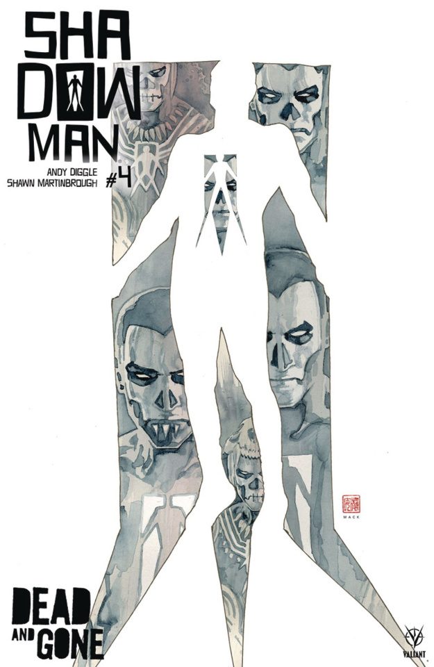 Shadowman #4 (Mack Cover)