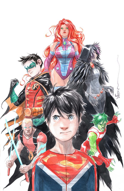 Super Sons #6 (Variant Cover)