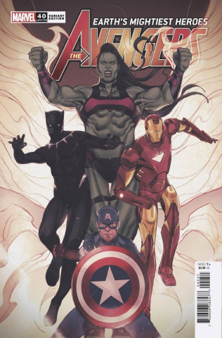 Avengers #40 (Swaby Cover)