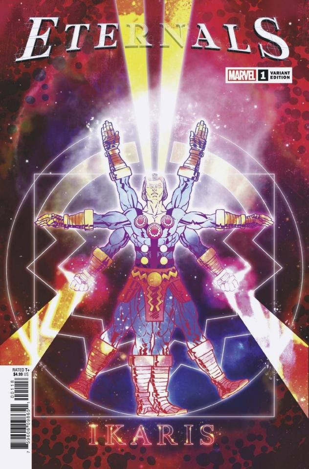 Eternals #1 (Superlog Cover)
