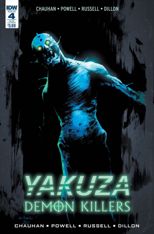Yakuza: Demon Killers #4 (Subscription Cover)
