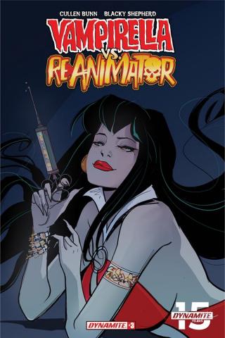 Vampirella vs. Reanimator #3 (10 Copy Virella Seduction Cover)