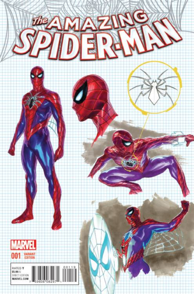 The Amazing Spider-Man #1 (Ross Design Cover)