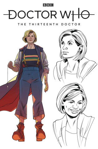 Doctor Who: The Thirteenth Doctor #1 (Gallifreyan High Council Cover)